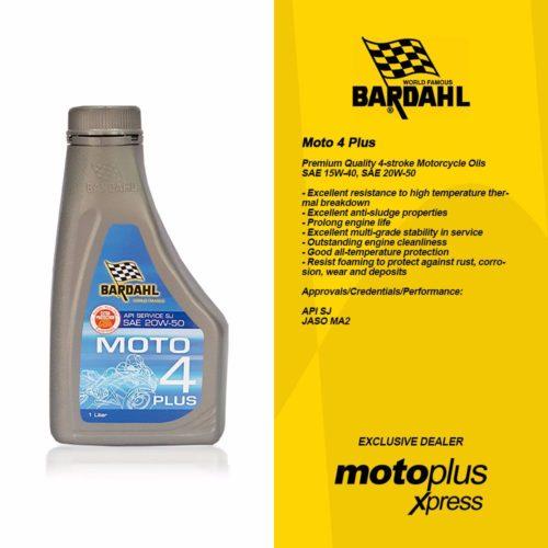 Bardahl Moto 4 Plus