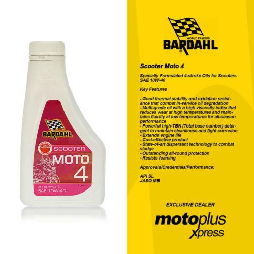 Bardahl Scooter Moto 4
