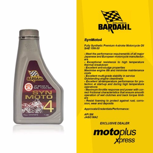 Bardahl SynMoto 4