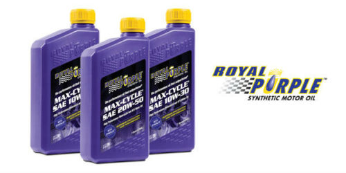 Royal Purple Max-Cycle Motorcycle Oil