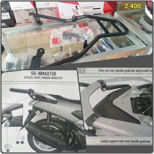 Yamaha Nmax Givi Bracket